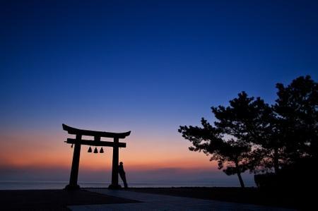 sunset japan landscapes Wallpaper – Computer Wallpapers