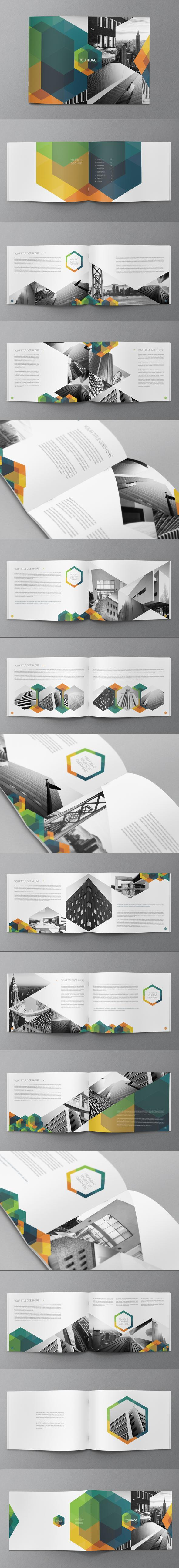 Hexo Brochure Design on