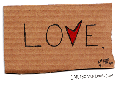 Cardboard Love in a Digital World - Part 7