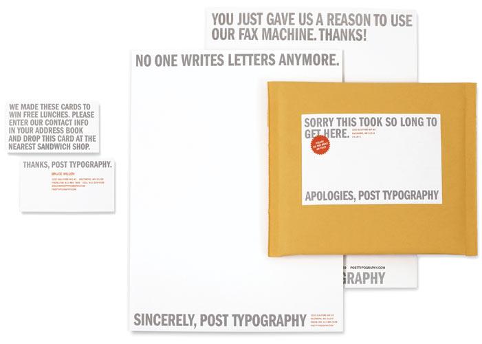 Post Typography : Portfolio