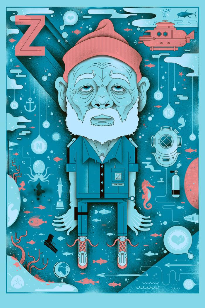 Graham Erwin - Illustration & Design - Zissou