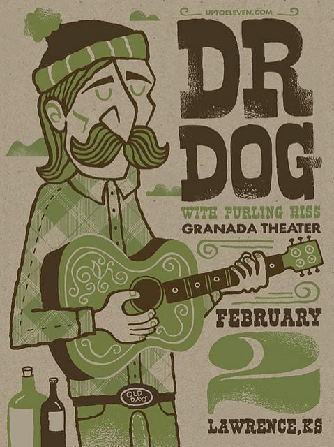 Dr. Dog Poster | Flickr - Photo Sharing!