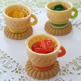 Edible Teacups | Food | Disney Family.com