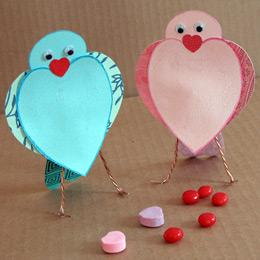 Sweetheart Songbirds | Crafts | Disney Family.com
