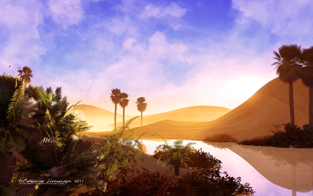 Oasis by *Celesta-Darkide