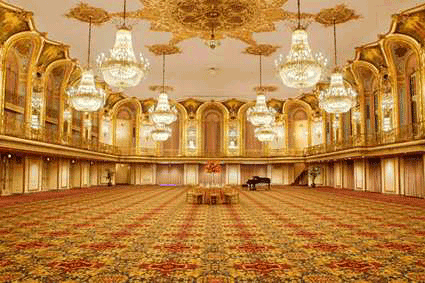 home and interior design: Grand Ballroom Evend Home Interior Image Design