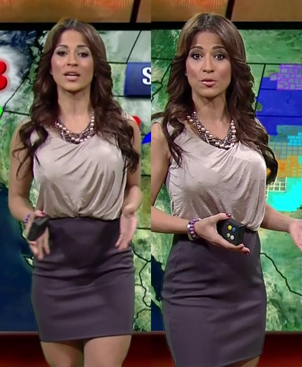Jackie Guerrido Short Skirt Pics - WeatherBabes.org