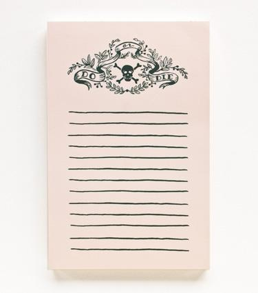 Rifle Paper Co. - Do or Die Notepad
