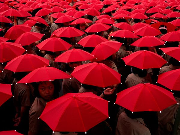 Life in Color: Red, Red Photos -- National Geographic