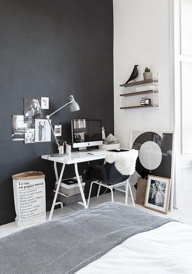 Werkkamer inrichten inspiratie werkplek idee n - Decoratie kamer thuis woonkamer ...