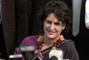 Priyanka Gandhi backs Chidambaram, Prime Minister