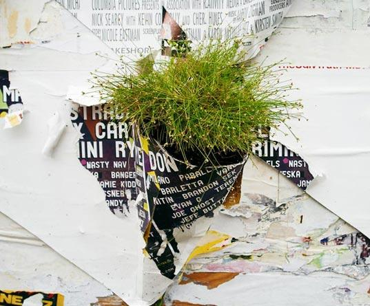 Urban Activism: Green Plant Sleeves for City Walls | Inhabitat - Green Design Will Save the World