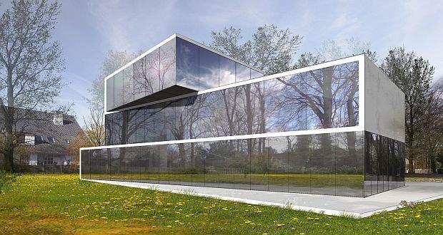 Szklany dom w Bremie - nowy projekt Koniecznego