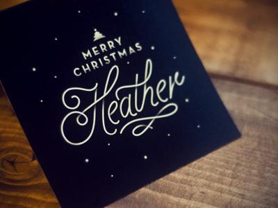 Christmas Card by Dustin Borowski
