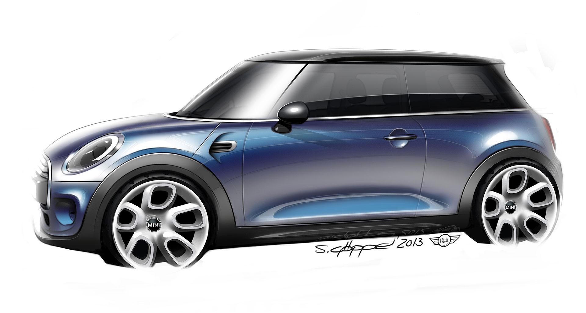 The new MINI - Design Sketch - Car Body Design #338209 on Wookmark