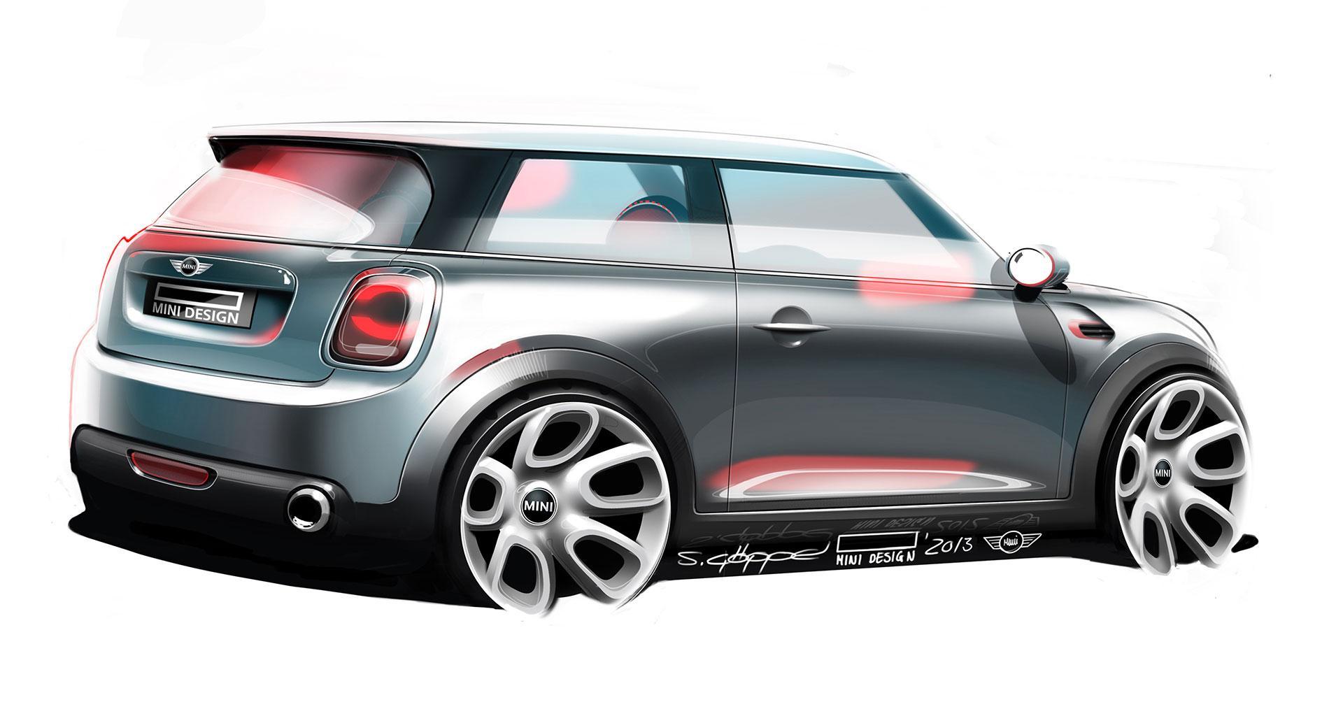 The New Mini Design Sketch Car Body Design 338210 On