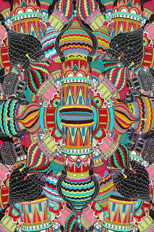 Trinity (Feat. FalcaoLucas) on the Pantone Canvas Gallery