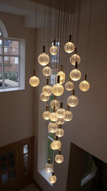 Contemporary Foyer Pendant Lighting : Dramatic contemporary chandeliers born to make a statement