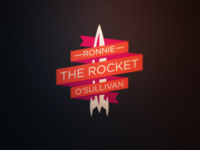 Snooker Logos: Ronnie 'The Rocket' O'Sullivan by Fraser Davidson