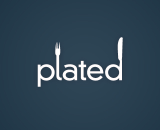 Plated - Logos - Creattica