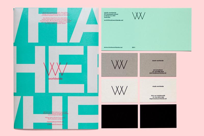 Studio World Wide | a worldwide design studio / Bench.li