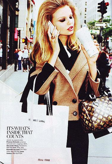 Editorial Spotlight: Magdalena Frackowiak In US Harper's Bazaar