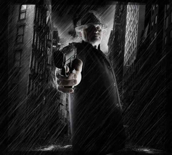 Film Noir: 30 Dark And Cold Digital Artworks