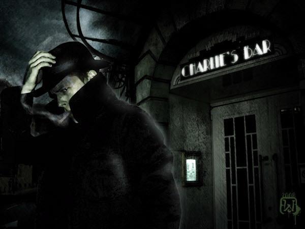 Film Noir: 30 Dark And Cold Digital Artworks