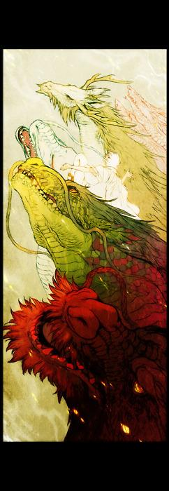 King of Day Dreamers. - reallyepicstuff: JapanDragon by ~HasaBattle