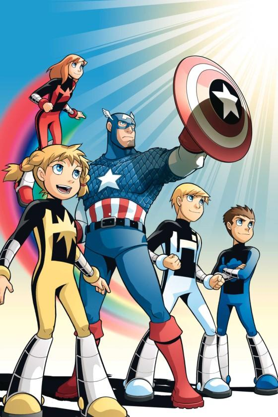 AVENGERS AND POWER PACK ASSEMBLE! #1//Gurihiru/G/ Comic Art Community GALLERY OF COMIC ART