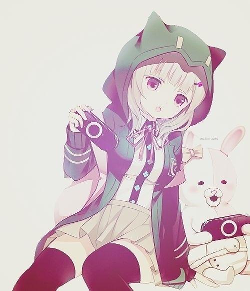 cute anime girl | We Heart It
