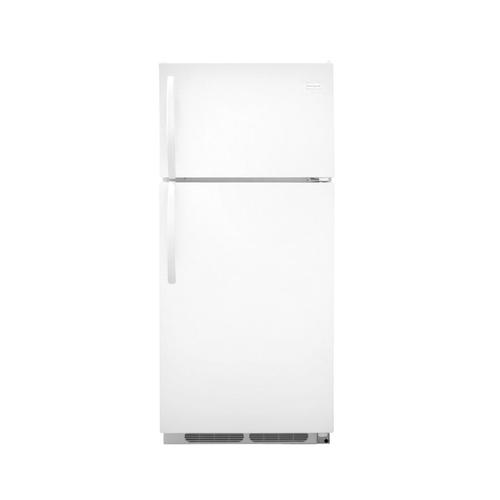 Shop Frigidaire 16.5 Cu. Ft. Top Freezer Refrigerator (Color: White) ENERGY STAR at Lowes.com