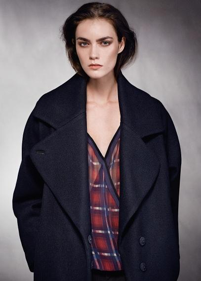 MANGO - VÊTEMENTS - Manteaux - Manteau oversize laine