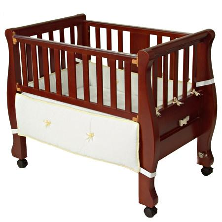Cherry [8200C] - $349.99 : Arm's Reach® Baby Bassinets - Baby Bedding, Furniture, Cribs, CO-SLEEPER® Brand Baby Bassinets