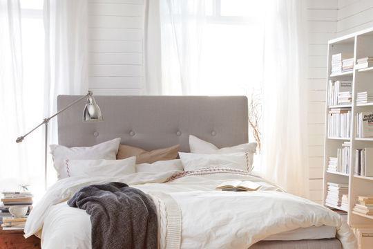 Tête de lit douillette - Une nouvelle tête de lit pour faire de beaux rêves - CôtéMaison.fr