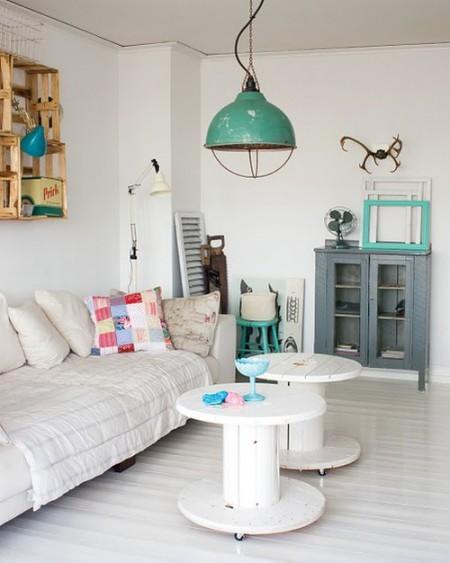Un hogar sueco de estilo industrial con detalles r sticos for Decoracion hogar nordico