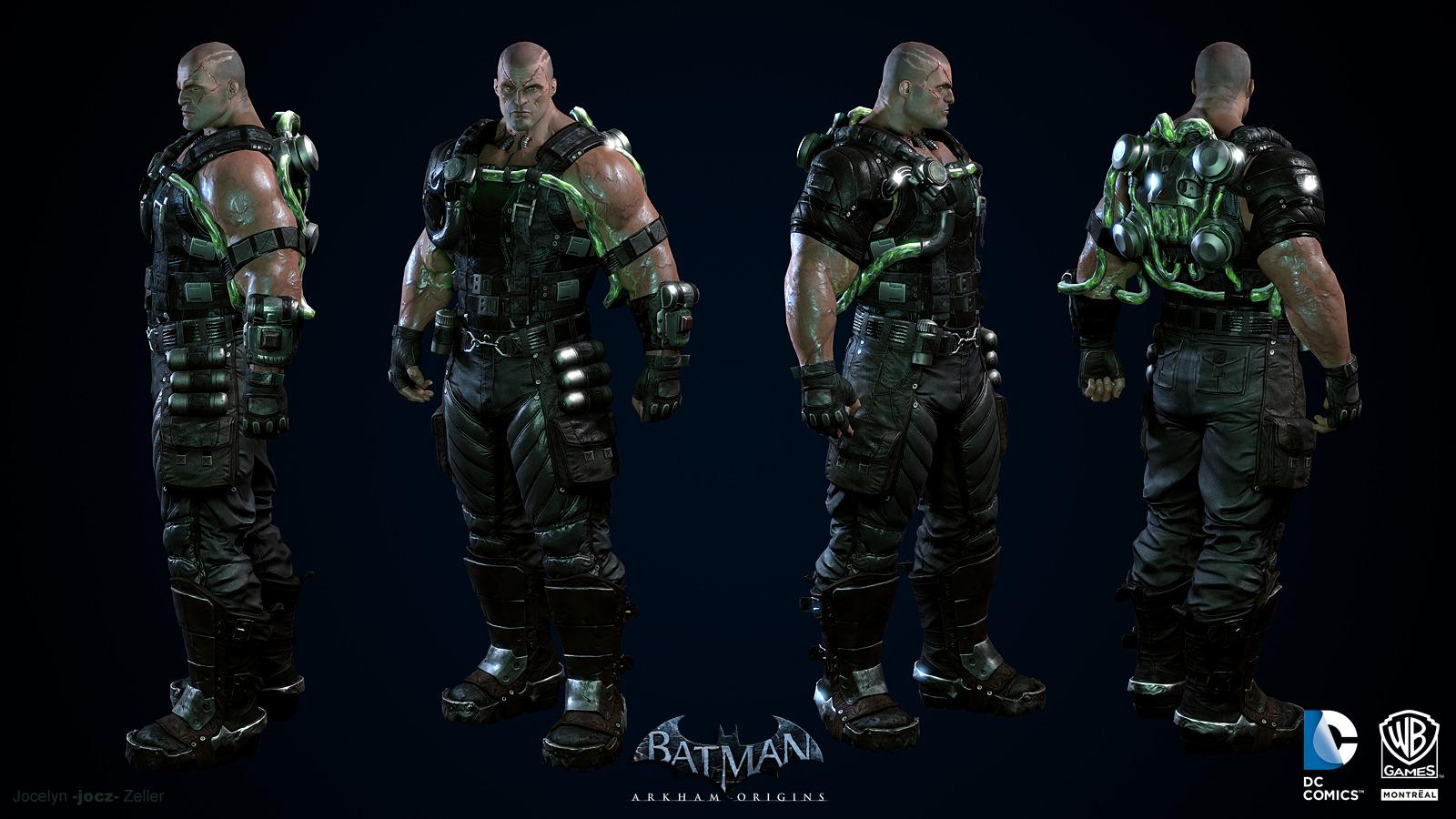 Batman: Arkham Origins, Characters - Polycount Forum ...
