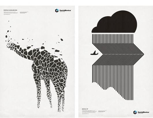 Designspiration — Mark Brooks Graphik Design » SANTAMONICA LW