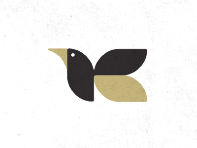 Designspiration — Dribbble - Logo Exploration: Flying Creature 03 by Carl Bender