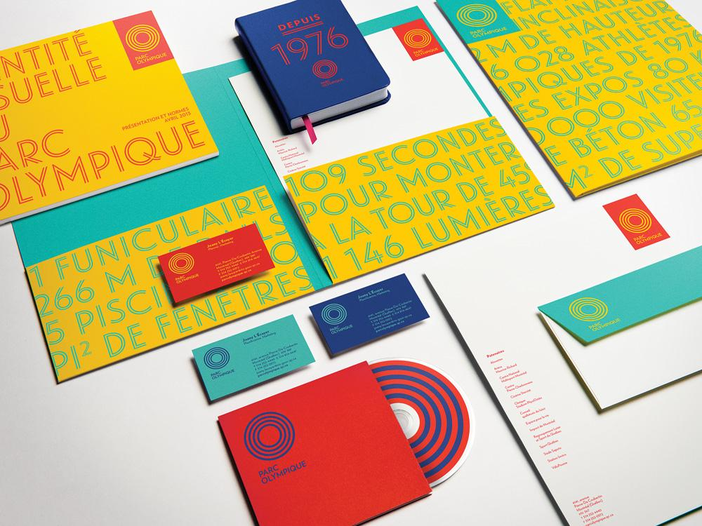 Brand New: New Logo and Identity for Parc Olympique by lg2boutique ...