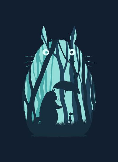 My Neighbor Totoro Art Print by Filiskun | Society6