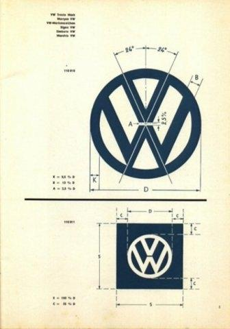 Designspiration — FFFFOUND! | Designspiration — Vintage VW Logo & Brand Specifications | your creative logo designer