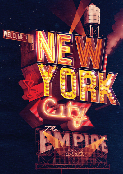 New York City / The Empire State – Ilovedust – Illustrators & Artists Agents – Début Art