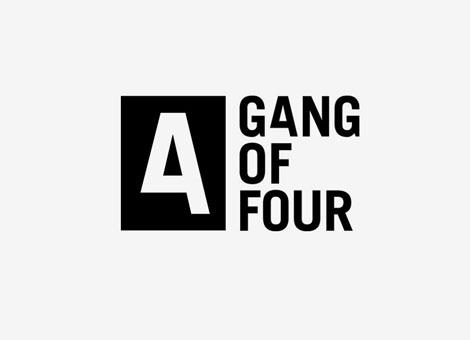 Designspiration — Gang of Four Logo | Shiro to Kuro