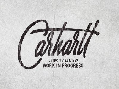 Designspiration — Dribbble - Carhartt by Sergey Shapiro
