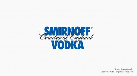 Designspiration — Smirnoff-Absolut Vodka Reversion