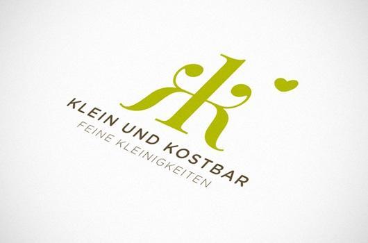Designspiration — Viktoria Klein | Kommunikations-Designerin // klein und kostbar | Wort-Bildmarke