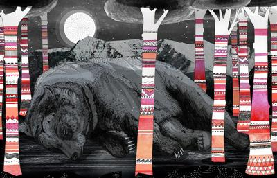 Sweet Dreams Ursus Arctus Art Print by Sandra Dieckmann   Society6