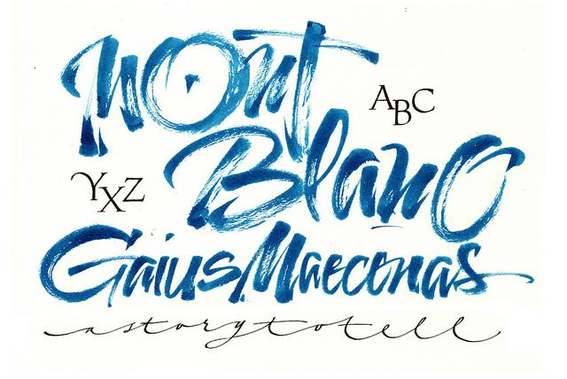 MB Gaius brush blue | Flickr - Photo Sharing!