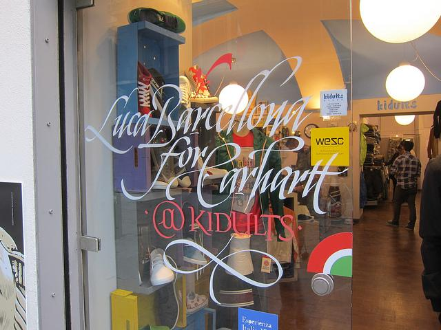 Carhartt performance and exposition @ Kidults Shop | Torino | Flickr - Photo Sharing!